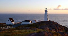 Cape Spear morning (Jean Knowles) Tags: lighthouse newfoundland buildings arr geotag allrightsreserved headland capespear newlight newfoundlandandlabrador nottobeusedwithoutmypermission mosteasterlypointinna 2012jeanknowles wwwjeanknowlesphotographycom
