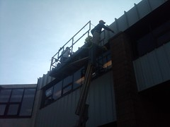 East Rutherford NJ Warehouse Paint Metal Siding