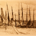 "<b>Billingsgate</b><br/> James McNeil Whistler (1834-1903) ""Billingsgate"" Etching, 1859 LFAC #1997:08:41<a href=""//farm8.static.flickr.com/7016/6852457887_6cf99cd1aa_o.jpg"" title=""High res"">∝</a>"