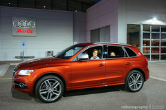 SQ5 Delivery ... (Rob Overcash Photography) Tags: auto car euro audi suv supercharged volcanored vsco robotography sq5 robovercashphotography fujixe2