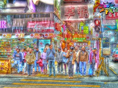 Hong Kong >>> Street scene (tiokliaw) Tags: world city holiday reflection building travelling nature beautiful beauty digital photoshop buildings wonderful interesting fantastic nikon scenery holidays colours exercise earth expression object perspective images explore walkway winner greatshot historical imagination sensational recreation greetings colourful discovery hdr finest overview creations excellence addon highquality inyoureyes teamworks digitalcameraclub recreaction hellobuddy mywinners mywinner worldbest anawesomeshot aplusphoto flickraward almostanything goldstaraward thebestofday burtalshot