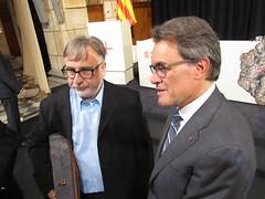 Artur Mas i Ramon Arnabat