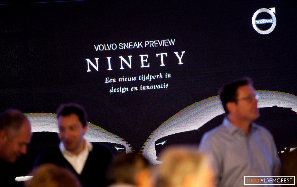 Sneakpreview show Volvo Nederland