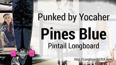 Punked Pines Blue Pi (longboardsusa) Tags: blue usa pi pines skate skateboards punked longboards longboarding