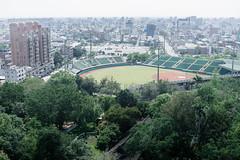# (David C W Wang) Tags: tree taiwan structure lookdown  chiayi   baseballfield  sigma50mm      sonya7ii