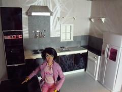 LaurenLand House 5 of 7 (suekulec) Tags: scale kitchen furniture makeover 16 diorama pedigree sindy