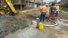 Aguas del Chuno EP contina arreglos en calle Benito Santos (GadChoneEC) Tags: calle empresa publica arreglos benitosantos aguasdelchuno