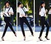 Andreea Diaconu 3 (drno_manchuria (simonsaw)) Tags: fashion shirt model moda tie bowtie knot modelo corbata collar gravata traje necktie terno nudo camisa menswear pajarita tirantes suitup andreeadiaconu