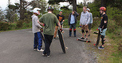 group2 (paul_r_fitzgerald) Tags: ireland dublin mountain hill skating slide downhill longboard skateboard longboarding longboarder ticknock dublinlongboardcrew