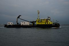 Delta (DST_6588) (larry_antwerp) Tags: netherlands ship nederland delta vessel schelde  schip  rilland             9104718