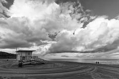 Torrance Beach  -29   3341-Edit (Katbor) Tags: clouds lifeguardtower torrancebeach