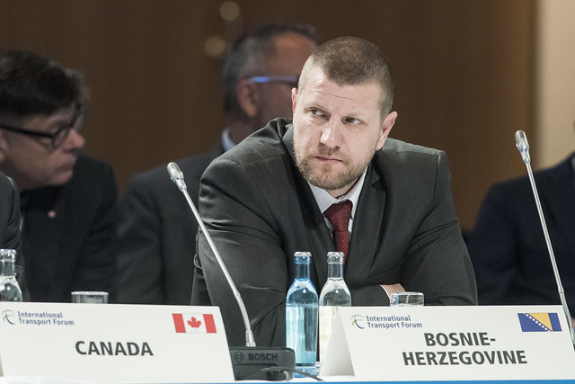 Ismir Jusko at the Closed Ministerial Session
