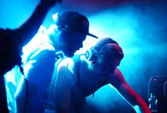 Silent Party  L'Usine (Antoine Durieux) Tags: party music lens lights dance mix dj silent geneva geneve sony 55mm dancefloor manual alpha russian lightshow usine 6000 djing helios m44 a6000