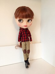 Some quality doll time. Redressed some of my girls. (florayah) Tags: doll blythe blythedoll customblythe customdoll