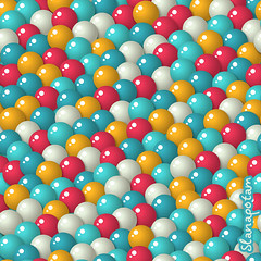 Gumball candies seamless pattern (Slanapotam) Tags: birthday red party holiday abstract game color texture yellow illustration ball gum fun design kid yummy mix rainbow funny colorful pattern different flavor candy desert sweet chocolate background chewy machine vivid style surfacedesign falling celebration glossy round winner bubble bubblegum win vector bonbon seamless gumball confectionery repeat realistic patterndesign slanapotam