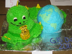 GIS Day Cake Contest Entree (University of Richmond : Arts & Sciences) Tags: day gis 2011