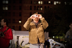 Nuit Blanche 2011 - Photo Time! (tamjty) Tags: life street camera people toronto ontario canada man canon eos 50mm f14 candid streetphotography photojournalism sigma 7d pointshoot nuitblanche 2011