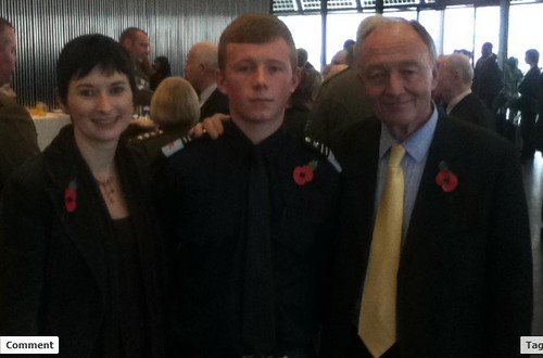 PJ and Ken  Livingstone