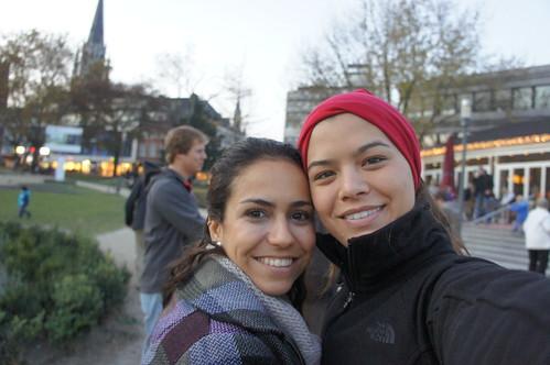 Com Lívia em Aachen, Alemanha
