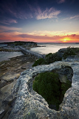 """Lessons"" - La Perouse Sunset (Luke Peterson Photography) Tags: sunset colour canon rocks hole 7d colourful laperouse"