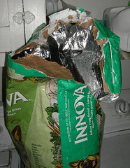 Dog Food Bag Ripped Open