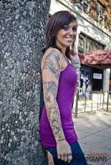 DSC06069 (Stephen Wiggins Photography) Tags: hot girl beautiful tattoo hair fun photo model downtown shoot casual dresser sleeve brittny