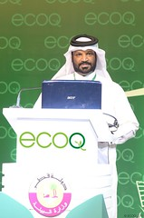 Naser Al Nuaimi - Ministry of Environment Qatar (ecoQ 2012) Tags: al doha naser nuaimi ecoq ecoqconference2011