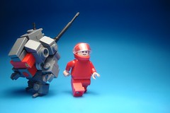 Healthy Red (jestin pern) Tags: chris fiction red design robot lego thing space science short frame fi sci mecha mech ironsniper chrissypoo