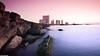 Sunset at Tripoli ! | غروب الشمس في طرابلس (Taha Elraaid) Tags: city canon eos mark capital ii western 5d libya tripoli largest taha 2011 البحر algharb طرابلس الغرب عروسة ṭarābulus elraaid tahaphotography