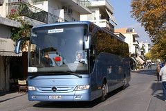Olympia, Greece (neiljennings51) Tags: bus mercedes coach tour greece olympia psv pcv tourismo