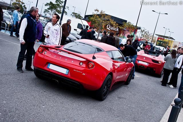 Lotus Evora S & Ferrari 458 Spider