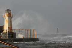 IMG_0188_adj (md93) Tags: sea lighthouse storm clyde waves harbour storms calmac ardrossan