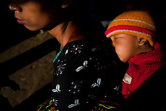In the dreamland (Sopnochora) Tags: life light canon eos living daylight mother tribal story tribe bangladesh 1022mm bandarban 500d canon style life mother hilltracts peoples baby child living thanchi 500d sopnochora mursalin mdhuzzatul