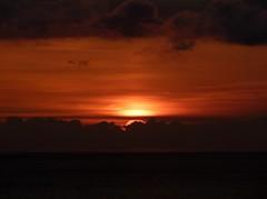 Taormina - Red sunrise (Luigi Strano) Tags: sea italy sunrise europa europe italia mare alba sicily taormina sicilia messina sicile sizilien