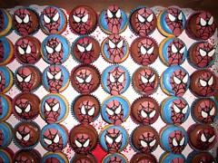 Spiderman Cupcakes 1