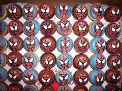 Spiderman Cupcakes 1