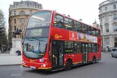 WVL144 LX53AYU Volvo B7TL Wright Eclipse Gemini, Trafalgar Square (Becca1181) Tags: bus london buses ahead go