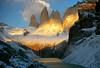 Sunrise, Torres (Jessie Reeder) Tags: chile travel camping patagonia mountains deleteme7 southamerica trek landscape nationalpark savedbythedeletemegroup paisaje hike saveme10 international andes torresdelpaine montañas saveme11 parquenacional parquenacionaltorresdelpaine sudamérica absolutelystunningscapes turichile photocontesttnc12