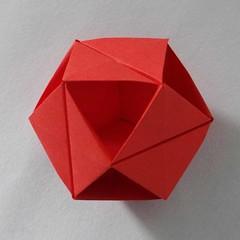 Vertical Slit Cubic Cuboctahedron (Ore) (Sam.Amalan) Tags: origami ore modularorigami toshikazukawasaki dschx100v sonydschx100v samamalan