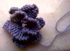 a winter flower (dimitra_milaiou) Tags: life winter cold flower art wool shop fun greek one 1 book design living nokia store knitting warm europe handmade crafts joy hellas knit athens hobby bookstore class yarn greece gift marble athina lessons accesories handknitting dimitra x6  sakalak              milaiou