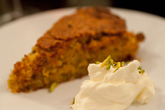 Almond, carrot, pistachio & orange cake (karohemd) Tags: food chicken lamb dinnerparty supperclub persianfood foodphotography