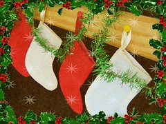 'Twas the Night Before Christmas 1 (Cathlon) Tags: christmas stockings challenge scavenge ansh twasthenightbeforechristmas competitioncorner