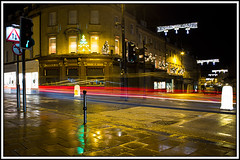 Bath Night Trails (Andrew J Wells) Tags: street cars night training dark lights photo bath workshop after lighttrails trafic andrewwells ajwphotography