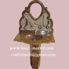 wash basin fossil stone (45) (wash basin fossils marbles) Tags: stone fossil morocco wash sinks basins