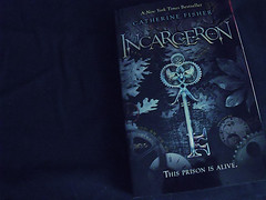 incarceron (playingdead) Tags: reading book incarceron