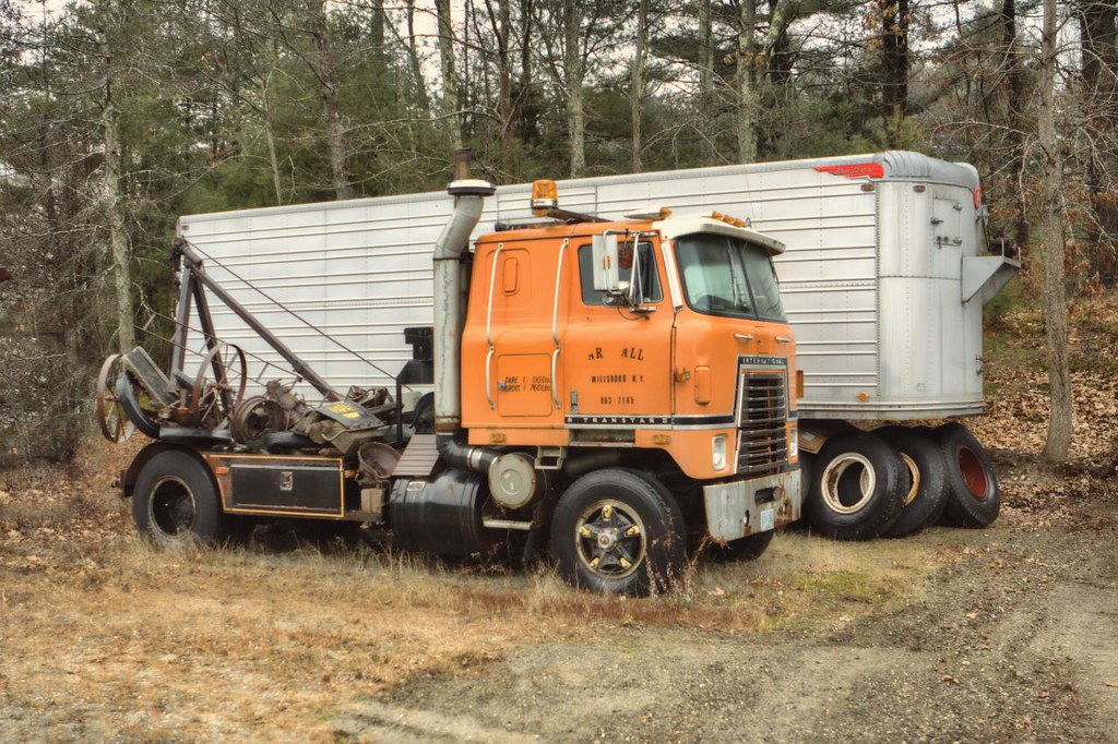 Antique International Cabover : The world s best photos of ih and transtar flickr hive mind