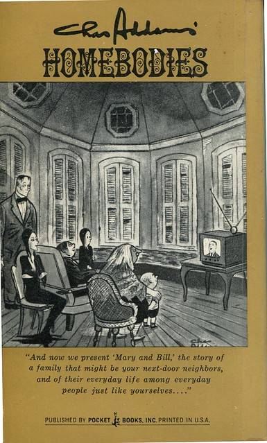 219 CHARLES ADDAMS Homebodies Pocket Books066