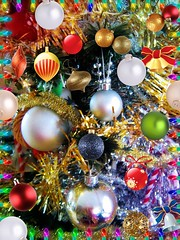 What a Lot I Got? (Cathlon) Tags: christmas decorations tree tinsel lots toomany baubles ansh scavenger6