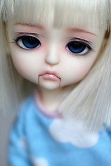 My little Puppet (Aya_27) Tags: yellow amazing eyes puppet ns full special divine wig stunning lea custom enchanted marionette latidoll palelips 14mm fmd lati faceupbyandreja