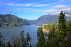 Lake Cushman Vista (Joe Rocchio) Tags: forest washington national staircase pacificnorthwest olympic olympicnationalpark lakecushman